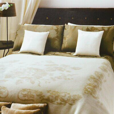 Coperta NoWool Made in Italy per letto Matrimoniale due piazze P648