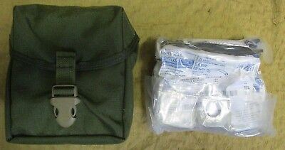 Sealed Us Army Ifak Including Cat Tourniquet/israeli Bandage In Od Molle Pouch.
