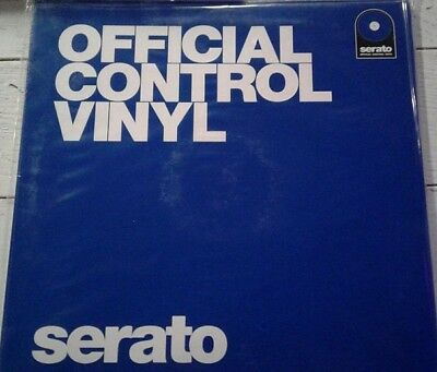 "Serato Performance Series Coppia Pair - Blue 12"" Control Vinyls Vinili"