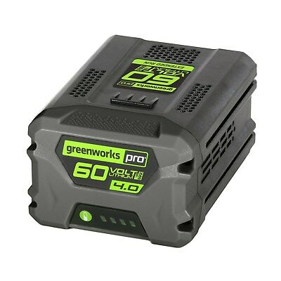 Greenworks 2908402-RC Pro 60V Lithium-Ion 4.0 AH Battery (Reconditioned)