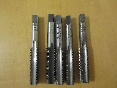 G839 Thread Cutting Taps ½ - 13NC, 3 & 4 Flute, Lot of 5