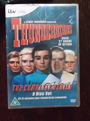 Thunderbirds  Complete Collection 9 Disc Box Set DVD Region 2 Europe New sealed