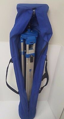 Pacific Crest Alum Telescoping Antenna Tripod w/ Carrying Bag USED