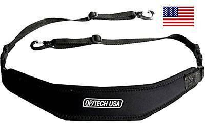 OpTech PRO Heavy Duty Binocular-Camera Strap Dual Connector Option