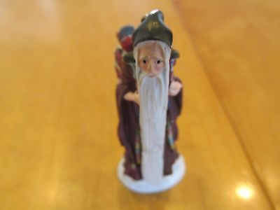 """Duncan Royale """"Medieval"""" from History of Santa Miniature Pewter"""