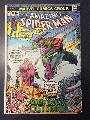 The Amazing Spider Man 122  Key Issue Death of Green Goblin Marvel