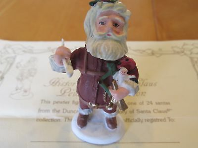 """Duncan Royale """"Nast"""" from History of Santa Miniature Pewter"""