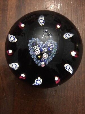 Rare Caithness Heart Limited Edition Paperweight 121/1000