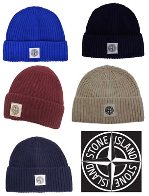 Stone Island Beanie Wool Hat Cap For Winter