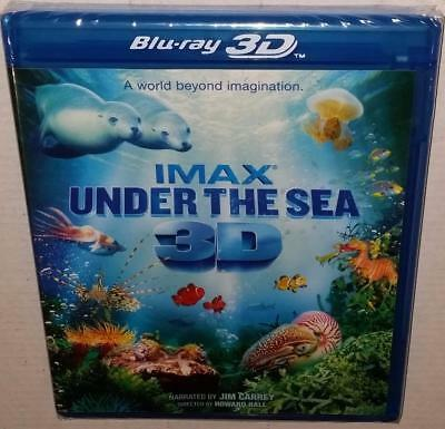 Imax Under The Sea Brand New Sealed Region Free 2D & 3D Bluray