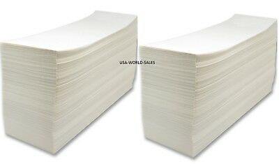 "Made in USA 4000 Fanfold 4x6""Labels For Zebra Thermal Printer/UPS/Fedex/Barcode"