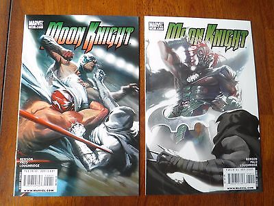 Moon Knight 29 30 Final Issues Bendis Dell'Otto Cover 2006 High Grade NM-