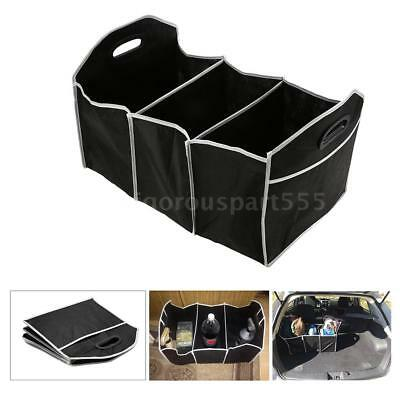 car collapsible trunk cargo toys food container organizer directly folded W2U3