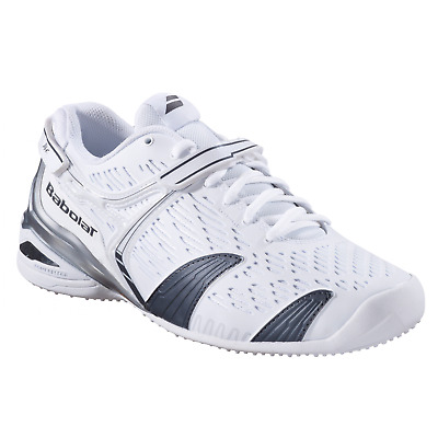 New Babolat Mens PROPULSE 4 Grass Court Tennis Shoes  White
