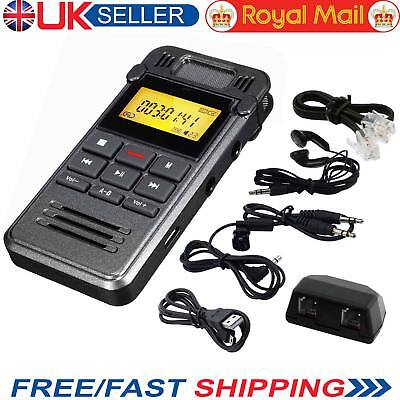 8GB Portable LCD Metal Digital Audio Sound Voice Recorder Dictaphone MP3 Player