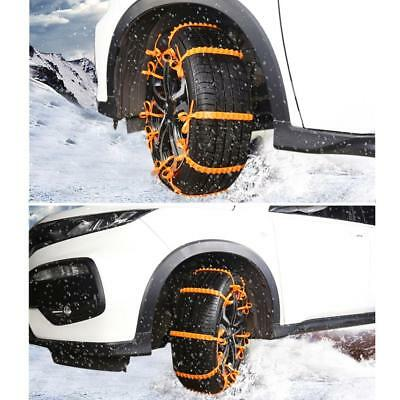 Universal 10X Lot For Cars/Suv Mini Plastic Winter Tyres wheels Snow Chains Y1T3