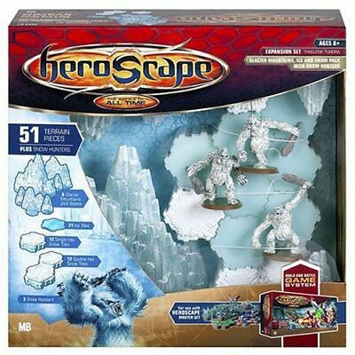 Hasbro Gaming Heroscape Game System Expansion Set: Thaelenk Tundra Glacier