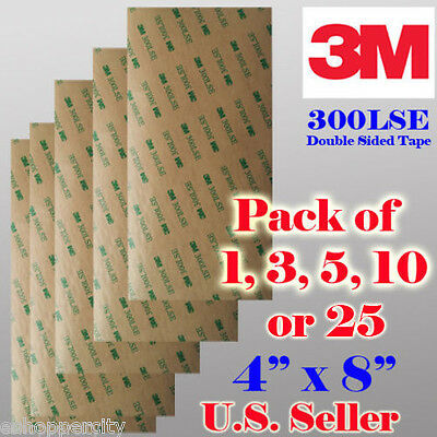 3M 300LSE Double Sided Sticky Adhesive Sheet Transfer Tape High Bond IPHON8
