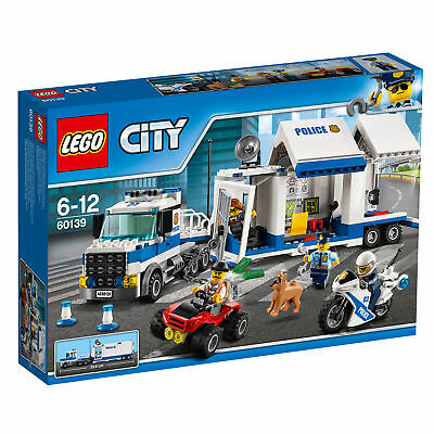 60139 Lego City Police Mobile Command Center 374 Pieces Age 6-12 New For 2017!