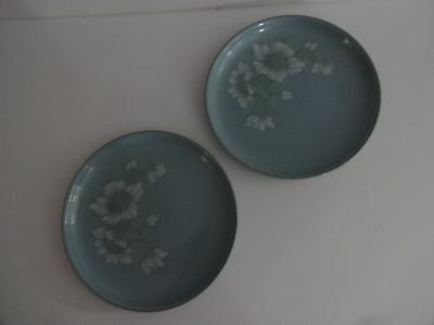 "Denby Blue Dawn- 2 x 10"" Dinner Plates - several sets available"