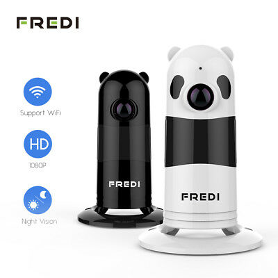 FREDI HD 1080P Wireless WIFI IP Camera Fisheye Indoor Security Night Vision