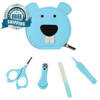 Livememory Baby Grooming Kit Manicure Set Infant Nails Clipper with Scissors...