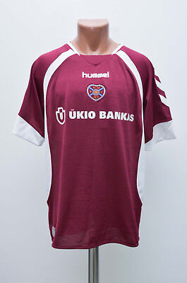 Heart Of Midlothian Hearts 2006/2007 Home Football Shirt Jersey Hummel Scotland