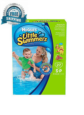 Huggies Little Swimmers Disposable Swimpants (Character May Vary) 27 ct. - S-P