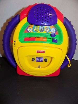 Fisher-Price  Mattel TUFF STUFF Cassette Tape Player Recorder VOICE CHANGER