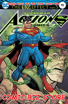 Action Comics #991 (2016) 1St Printing Lenticular Variant Cvr Superman Oz Effect
