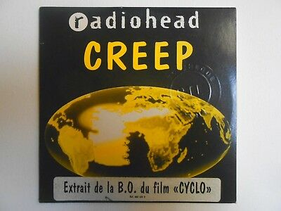 Radiohead ♪♪ French Cd Single + Sticker ♪♪ Creep