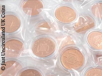 1971 - 2008 One Pence BUNC Coins - Various Years - GB 1p One Penny BU Coins