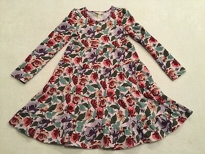 716abda99700 Matilda Jane Once Upon a Time Little Miss Alice Floral Dress Size 8 EEUC