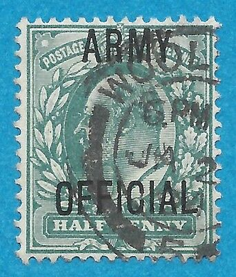 Great Britain  O59  Used  Army Official