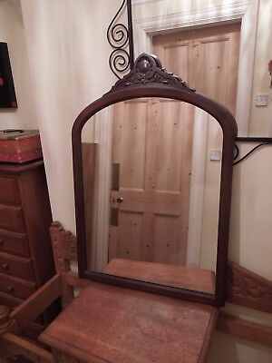 Lovely Old Edwardian Mirror - Collection Only from Northampton NN1