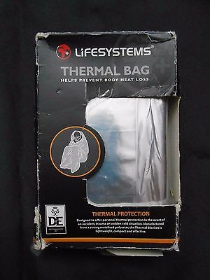 Lifesystems Thermal Survival Bag D of E Recommended Kit
