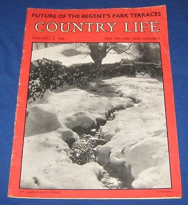 Vintage Country Life Magazine February 1946 [2]