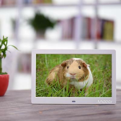 """10""""inch HD 16:9 LED Digital Photo Frame Picture MP3 MP4 Movie Player Remote S9R4"""