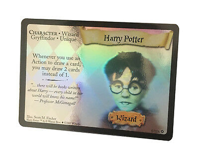 Harry Potter - 8/116 - Holo Rare Base Set Harry Potter Trading Card MINT