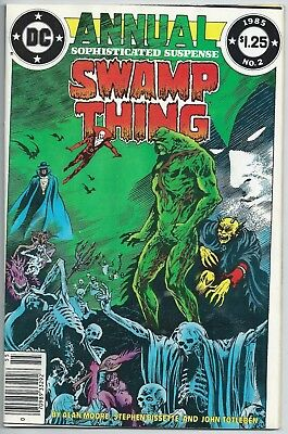 🔥🔥swamp Thing Annual #2**(1985, Dc)**justice League Dark**alan Moore**fn+🔥🔥