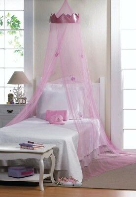 Pink Princess Hanging Bed Canopy Perfect Gift-New-Birthday, Christmas, Anyday!