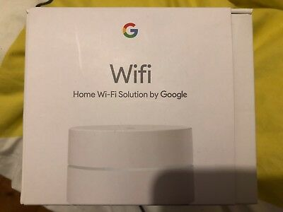 Google Wifi Whole Home System Single Pack – White NEW + FREE FAST DELIVERY