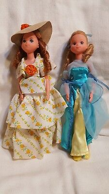 VINTAGE 1973 Mattel The Sunshine Family dolls