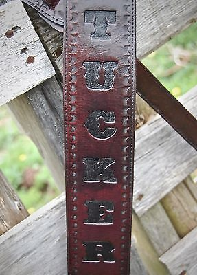Leather Guitar Strap - Custom Personalized Guitar Strap - CUSTOM GUITAR STRAP
