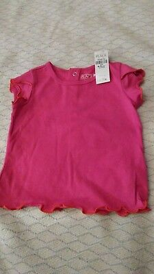 Nwt Childrens Place Infants Girls Pink T Shirt 6
