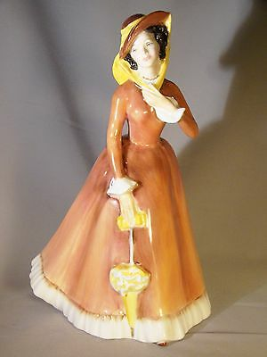 Royal Doulton Bone China Figurine Julia HN2705 Painter's Initials M.J. c.1974