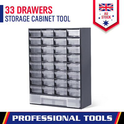 New 41 Drawers Tool Storage Cabinet Box Bin Chest Case Plastic Organiser Toolbox