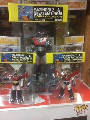 Mazinger Z Figure 3 Pcs Set Rare And Limited By Dynamic Planning  Toe Animation