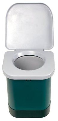NEW Heavy Duty Plastic Construction Portable Outdoor Camp Toilet Built In Handle