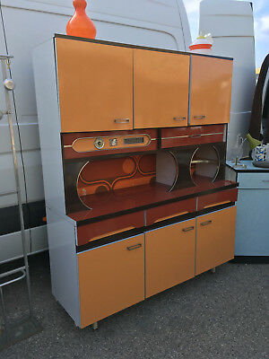 Buffet formica orange Vintage
